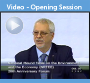 NRTEE 20th Anniversary Forum - Opening Session Video