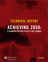 Achieving 2050: A Carbon Pricing Policy for Canada – Technical Report