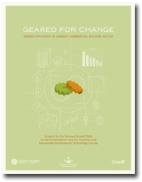 Geared for Change: Energy Efficiency in Canada's Commercial Building Sector