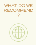 What do we recommend?